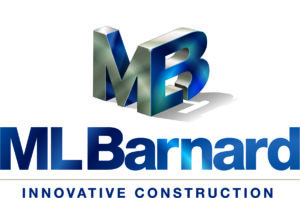 ML Barnard Logo Cube Metal